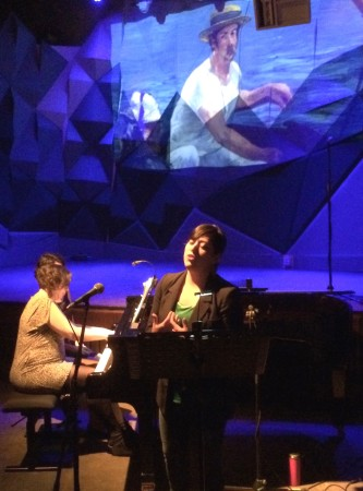 Valery Saul sang Debussy at CRPDX.