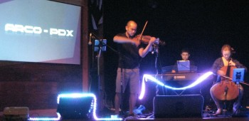 ARCO-PDX also performed in Eugene in August. Photo: Gary Ferrington.