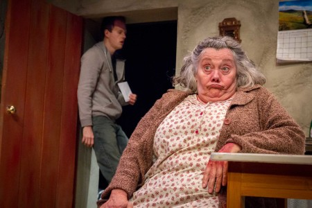 Jayne Taini in Third Rail Rep's The Beauty Queen of Leenane. Photo: Owen Carey