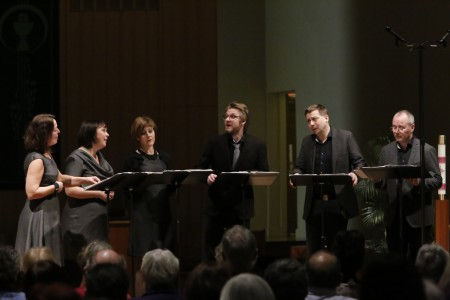 FOCM's Vocal Arts series brought Nordic Voices to Oregon last spring.