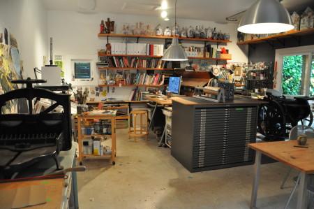 Studio of Daniel Duford.