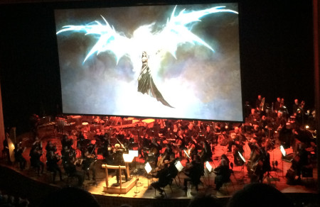"""The Oregon Symphony performed in """"rePLAY: Symphony of Heroes"""" last March."""