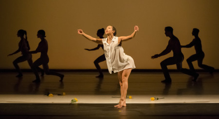 Ching Ching Wong, Northwest Dance Project's newest Prince Grace Award winner. Photo: Blaine Truitt Covert
