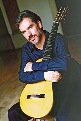 Paul Galbraith brings his special guitar back to Portland.