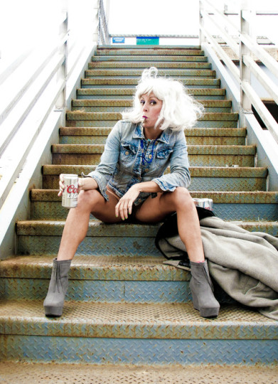 Adrienne Truscott: talking about rape, one Coors at a time.