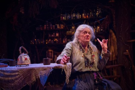 Vana O'Brien's solo performance in the play Broomstick closed Sunday, but Artists Rep's spaces stay packed for action all year long. Photo: Owen Carey