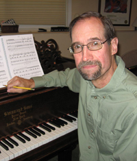 Composer Terry McQuilkin: Photo: UO School of Music and Dance