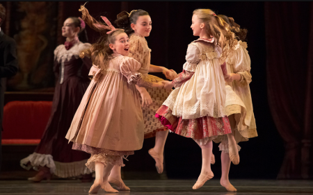 Oregon Ballet Theatre's 2013 production of The Nutcracker. Photo: Blaine Truitt Covert