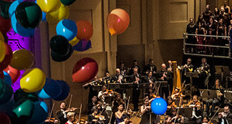 The Oregon Symphony plays Beethoven's Symphony #9 on Wednesday night at Arlene Schnitzer Concert Hall.