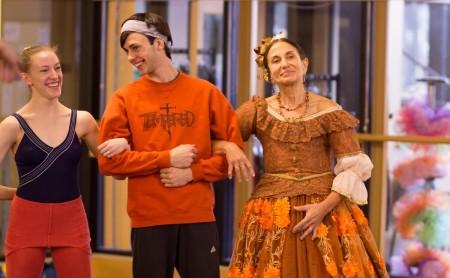 Loren Kessler, right, in Eugene Ballet Company's The Nutcracker./Photo courtesy of Loren Kessler