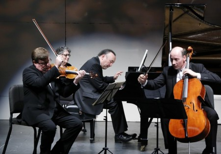 Friends of Chamber Music brought the Montrose Trio to Portland. Photo: John Green.