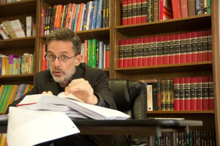 """David Berkson adapted and stars in """"Dear-Committee-Members"""" at Readers Theatre Repertory. Photo: JasmineSpiegel."""