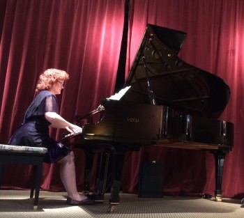 Pianist Dianne Davies plays music by Cascadia Composers Feb. 27.