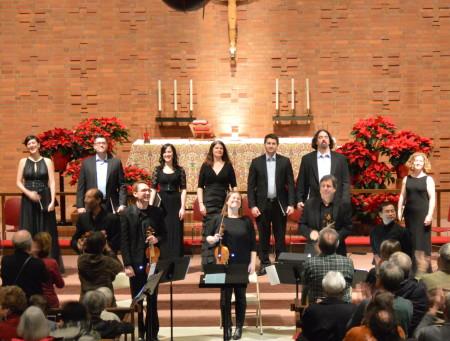 The Ensemble performed Dido & Aeneas in Eugene and Portland. Photo: Corbett Niedfeldt.
