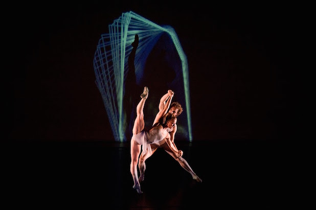Seiwert's White Noise Ballet. Photo: Scot Godman.