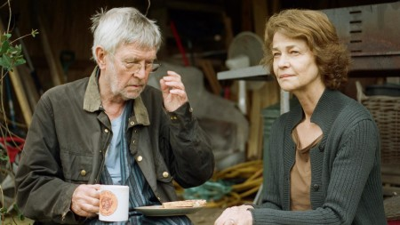 """Tom Courtenay and Charlotte Rampling in """"45 Years."""""""