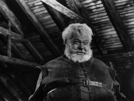 """Orson Welles as Falstaff in """"Chimes at Midnight."""""""