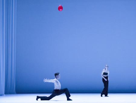 "Julia Radick and Kody Jauron in the premiere of Ihsan Rustum's ""Le Fil Rouge."" Photo: Blaine Truitt Covert"