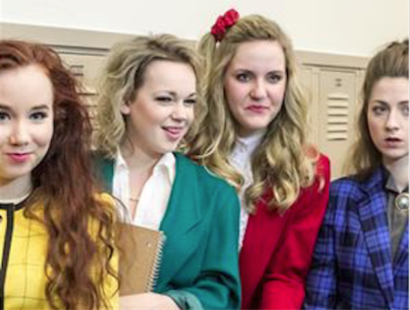 Heathers, hangin' in the hall. Photo: Triangle Productions