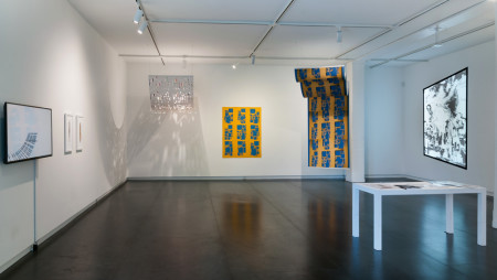 "Installation, ""Variable States: Prints Now."" Photo: Upfor Gallery"