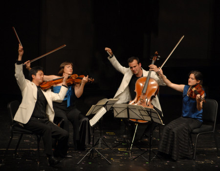 Jupiter Quartet performs at Portland State University Monday and Tuesday.