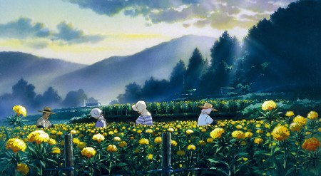 "A scene from ""Only Yesterday."""