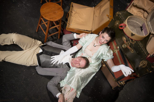 Clara Hillier as Emma, Joey Copsey as Knightly for Bag&Baggage. Casey Campbell Photography.