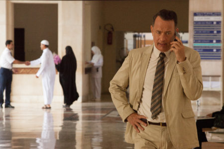 Tom Hanks in A HOLOGRAM FOR THE KING. Photo Credit: Siffedine Elamine