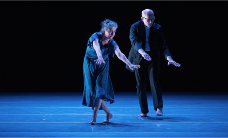"Guest artist Susan Banyas and Gregg Bielemeier in ""Beautiful Decay."" Photo: Yi Yin"
