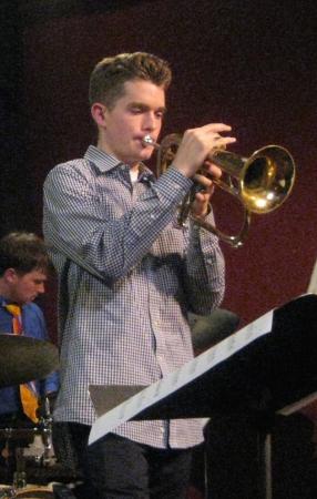 Glausi performing at Eugene's Jazz Station. Photo: Gary Ferrington.
