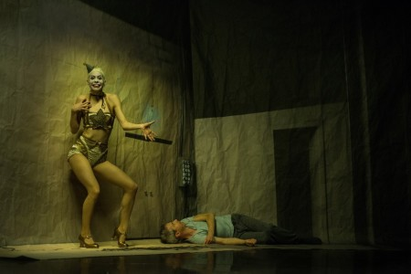 "Kidd Pivot and Electric Company Theatre in ""Betroffenheit."" Wendy D Photography"