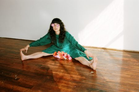 Allie Hankins in Now Then: A Prologue. Photo by Ashley Sophia Clark