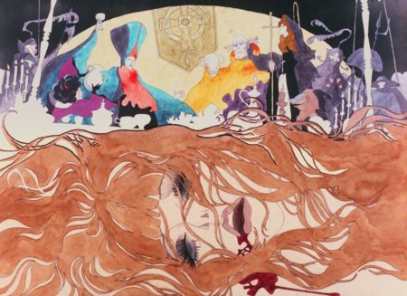 "A scene from ""Belladonna of Sadness."""