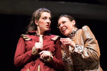 Cassie Liis-Hillier & Cassie Greer in Bag & Baggage's 'Emma.' Photo: Jess StewartMaize, LensFlare Photography.