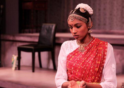 Maya Jagannathan of Anjali School of Dance, from an AGE showcase performance. Photo: Jason Bruderlin