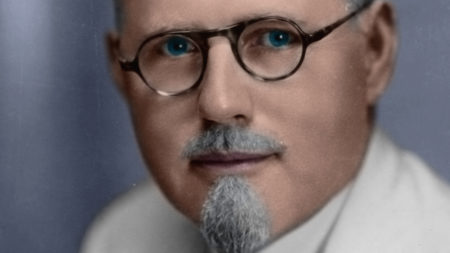 """Dr. John Romulus Brinkley, the subject of the documentary """"Nuts!"""""""