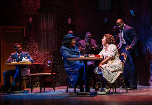 "Portland Center Stage's ""Ain't Misbehavin'"": best ensemble in the best musical on the dest-designed stage. (Photo by Patrick Weishampel/blankeye.tv)"