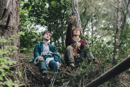 "Daniel Radcliffe and Paul Dano star in ""Swiss Army Man."""
