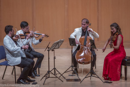 The Dover Quartet played Beethoven at Reed College. Photo: Tom Emerson.