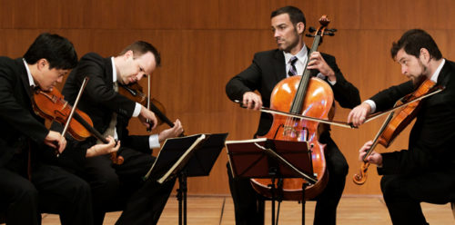 The Mirò Quartet: down in the trenches with Beethoven.