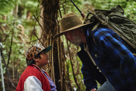 """Julian Dennison and Sam Neill in """"Hunt for the Wilderpeople"""""""