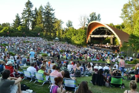 Eugene Symphony performs thrice outdoors this week.