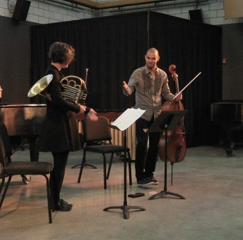 "Shannon Lauriston's ""From the Ashes"" performed by the composer and former Kronos Quartet cellist Jeffrey Zeigler."