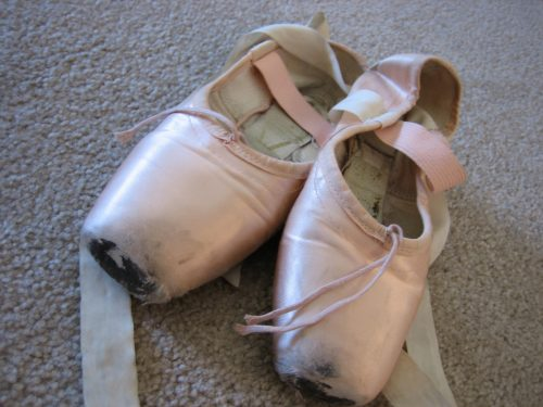 A professional dancer trains her body from head to toe – and goes through a lot of pointe shoes. Photo: Gavin Larsen