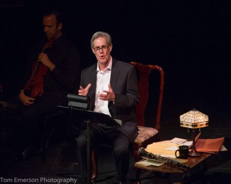 """Jack Gilpin starred in """"An Unlikely Muse: Brahms and Muhlfeld,"""" at Chamber Music Northwest. Photo: Tom Emerson."""