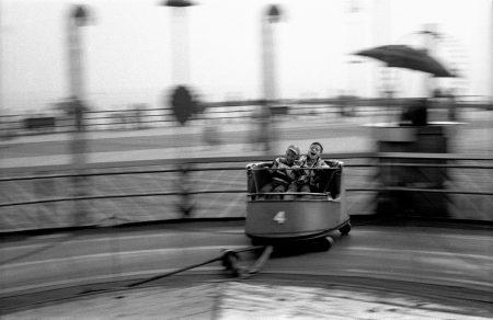 """Harold Feinstein, """"Kids Ride the Whip"""", 1950/Courtesy Blue Sky GalleryT"""