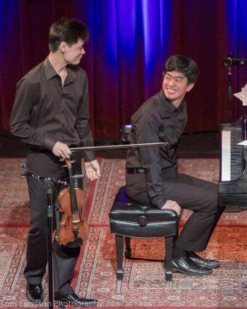 Hsu & Yu at CMNW. Photo: Jonathan Lange.