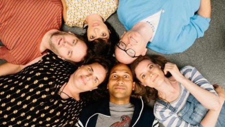 """The cast of """"Don't Think Twice"""""""