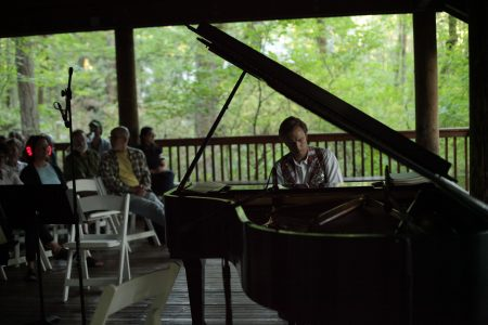 Noack performed at Tryon Creek State Park in Portland. Photo: Bobby Bonaparte.