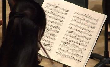 Up close. UT Austin Symphony webcast February 17, 2015.